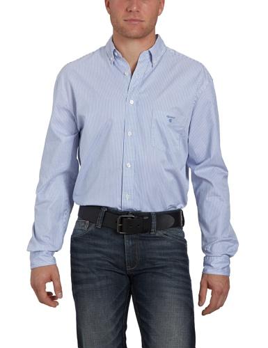 Gant Men's 382830 Casual Shirt Blue (Ocean Blue) 46