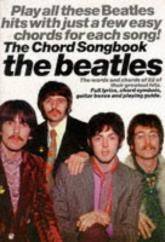 The Beatles: the Chord Songbook (Chord Songbooks)