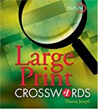 img - for Large Print Crosswords #1 book / textbook / text book