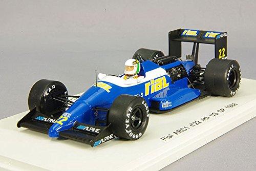 ☆ スパーク 1/43 リアル ARC1 1988 F1 アメリカGP 4位 #22 A.チェザリス