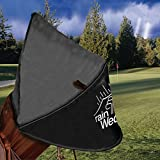 Masters Rain Wedge Bag Cover - Black
