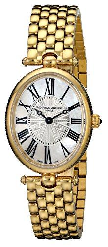 Frederique Constant FC200MPW2V5B - Reloj para mujeres color dorado