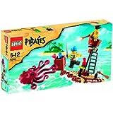 Lego - 6240 - Jeu de construction - Pirates - Le radeau des pirates et la pieuvre