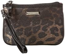 Nine West 60289120-4SM Wallet,Taupe/Black,One Size