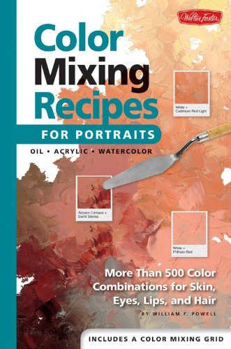 Book Cover Watercolor Mixing : Book review color mixing recipes for portraits more than