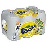 Fanta Z Icy Lemon Zero Added Sugar (6x330ml)
