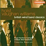 Holst Vaughan Williams British Wind Band Classics