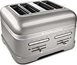 KitchenAid Pro Line Series Sugar Pearl Silver 4-Slice Automatic Toaster