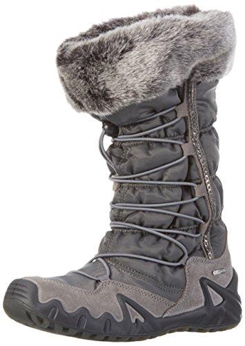 PrimigiAlfa-e - Stivali e stivoletti alti imbottiti caldi Bambina , grigio (Grau), 37 EU