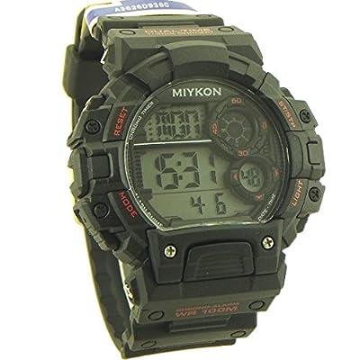 Miykon Men's Multi-Functional Digital Sport Watch Black Dark - 1