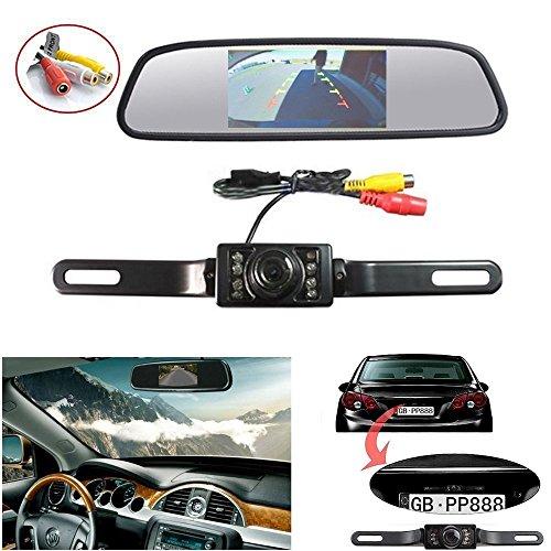 Dax-43-Zoll-Farbe-Rckfahrkamera-LCD-Monitor-Rckfahrkamera-Kamera-437-TFT-LCD-Monitor-Fernbedienung-Standfu-Fr-Auto-Rckfahrkamera-monitor