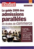 Le guide des admissions parallles en coles de commerce