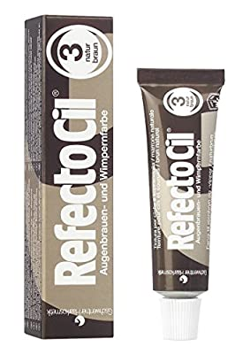 RefectoCil Cream Hair Dye (NATURAL BROWN) .5oz New Free Shipping