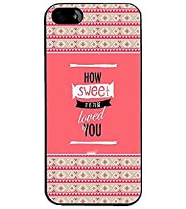 PrintDhaba Quote D-4680 Back Case Cover for APPLE IPHONE 5S (Multi-Coloured)