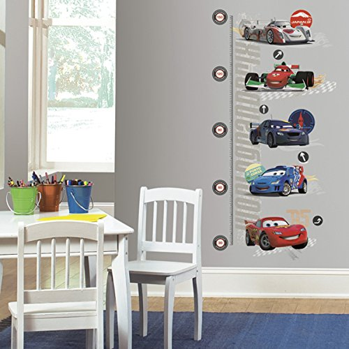 Roommates Int1585Gc Cars 2 Peel And Stick Metric Growth Chart Wall Decals (Peel Stick Growth Chart compare prices)