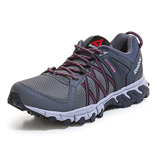 Reebok Donna Trailgrip Rs 5.0 Scarpe da trekking argenteo Size: 39