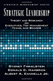 img - for By Bert Cannella Strategic Leadership: Theory and Research on Executives, Top Management Teams, and Boards (Strategic book / textbook / text book