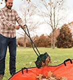 Plow & Hearth No-Strain Leaf Collector with Long Handles