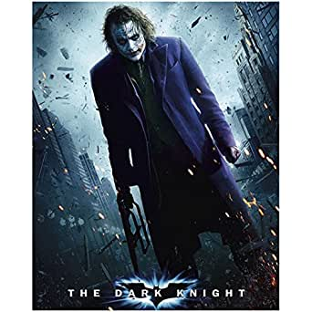 Batman: The Dark Knight Heath Ledger is The Joker Holding