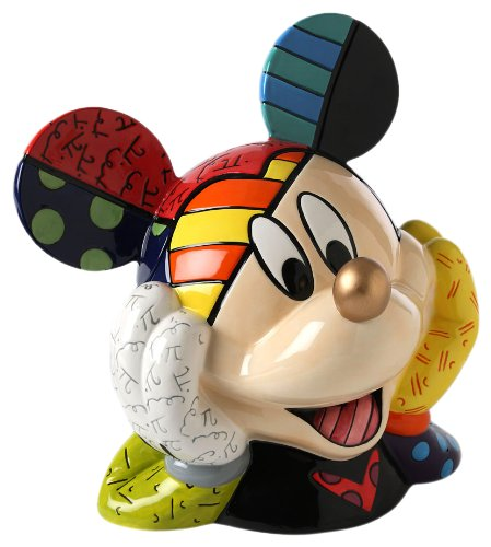 Enesco Disney by Britto Gold Nose Mickey Mouse