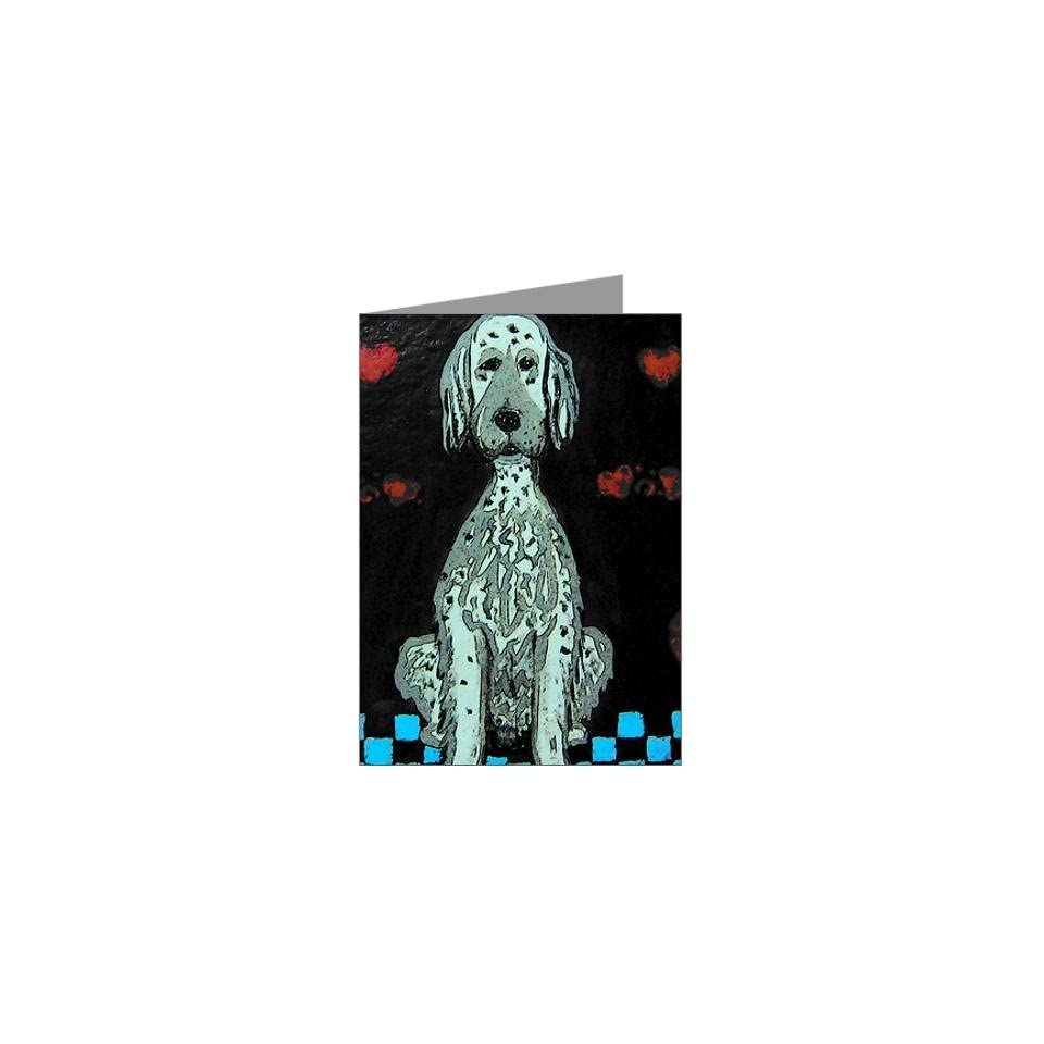 English Setter Greeting Cards Pk of 10 by