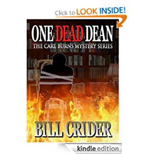 One Dead Dean - A Carl Burns Mystery (The Carl Burns Mysteries)