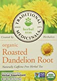 Traditional Medicinals Organic Roasted Dandelion Root Tea - Caffeine Free - 16