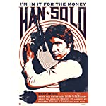 "Star Wars - Movie Poster / Print (Han Solo - Retro / Vintage Style - Quotes) (Size: 24"" x 36"")"
