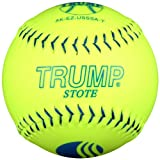 Trump® AK-EZ-USSSA-Y AK-EZ Series 12 Inch 40/325 USSSA 'Synthetic Leather Softball (Sold by the DZ.)