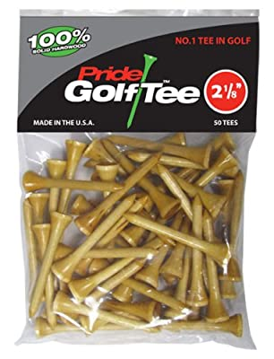 Pride Golf Tee - 2-1/8 inch Deluxe Tee - 50 Count Bag