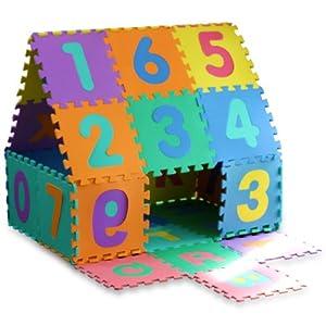 ott 86 teilig spielteppich spielmatte puzzlematte kinderteppich spielzeug. Black Bedroom Furniture Sets. Home Design Ideas