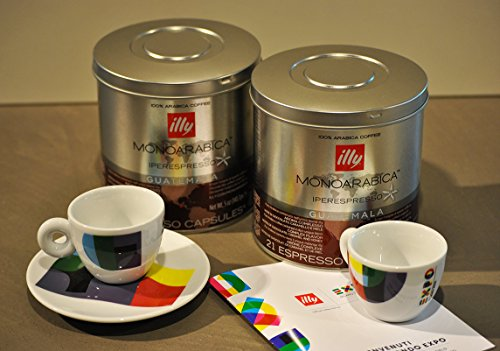 Purchase Illy Coffee Iperespress Guatemala - Set 2 cans of 21 capsules each from Illy