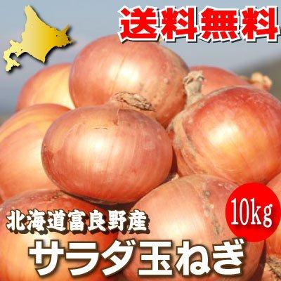 北海道富良野産 サラダ玉葱(たまねぎ) 10kg