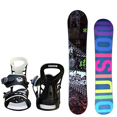 DIVISION  メンズ スノーボード 2点セット KLEIDUNG size156 ブラック×ホワイトML