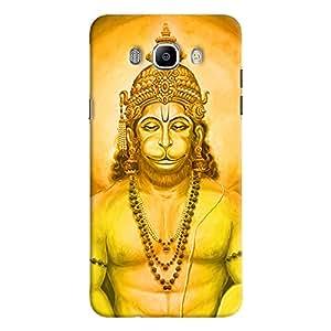 ColourCrust Samsung Galaxy J7 (2016) Mobile Phone Back Cover With Lord Hanuman Devotional - Durable Matte Finish Hard Plastic Slim Case