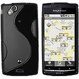 mumbi TPU Silikon Schutzhülle für Sony Ericsson Xperia Arc / Xperia ARC S