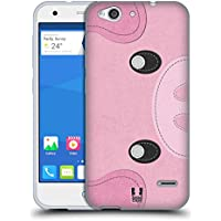 Head Case Designs Pig Animal Patches Series 1 Soft Gel Case for ZTE Blade V6 / D6