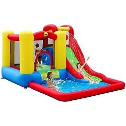 Duplay Jump & Splash Adventure Zone Bouncy Castle & Pool