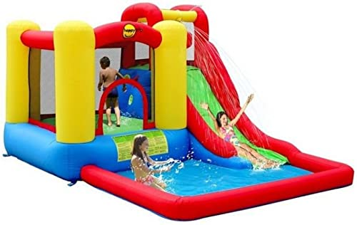 Duplay Jump & Splash Adventure Zone Bouncy Castle & Pool
