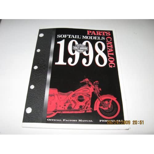 1998 Harley Davidson Softail Models Parts Catalog