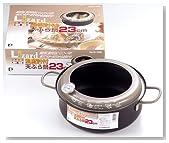 リザード 鉄製温度計付天ぷら鍋23cm H-1500