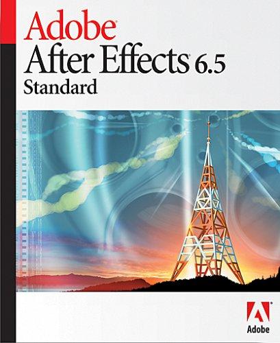 After Effects Standard Upgrade Standard to Stadard 6.5 Mac
