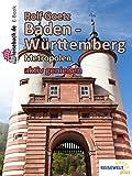 Baden Württemberg Städte: aktiv genießen (German Edition)