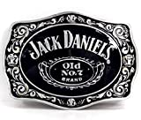 Licensed Jack Daniels Buckle, No.7, belt buckle