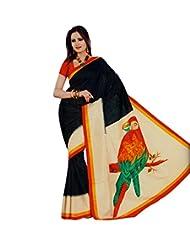 Meher Designer Art Silk Saree - B00RJNC5JA