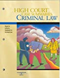 High Court Case Summaries on Criminal Law (High Court Case Summaries) (0314172300) by West Group