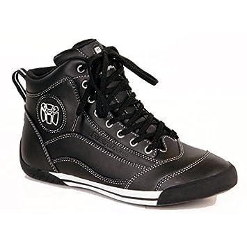Bering - Baskets moto POP - Taille : 43 - Couleur : Noir