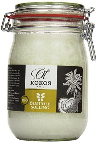 Ölmühle Solling Bio Kokosöl im Bügel-Glas 1000ml
