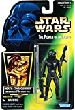 1996 Hasbro Star Wars Power of the Force Green Hologram Card Death Star Gunner with Imperial Blaster and Assault Rifle