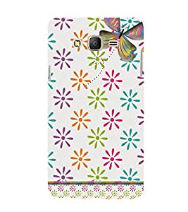 Butterfly Design Cute Fashion 3D Hard Polycarbonate Designer Back Case Cover for Samsung Galaxy On7 G600FY :: Samsung Galaxy On 7 (2015)